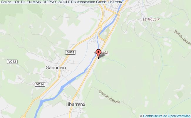 plan association L'outil En Main Du Pays Souletin