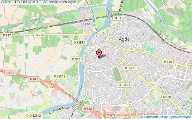 plan association L'union Agathoise Agde