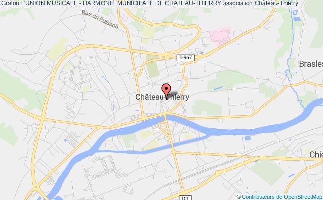 plan association L'union Musicale - Harmonie Municipale De Chateau-thierry
