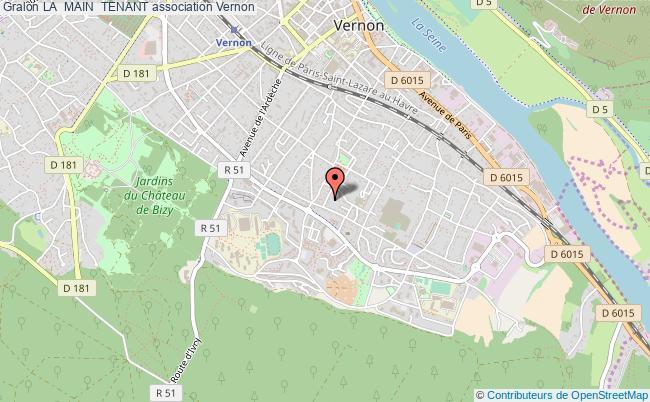 plan association La  Main  Tenant Vernon