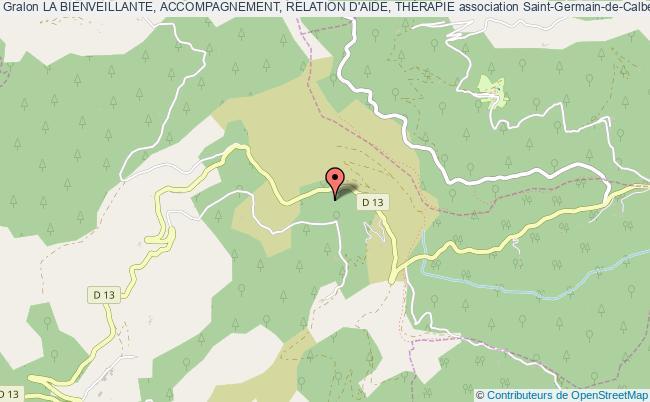 plan association La Bienveillante, Accompagnement, Relation D'aide, ThÉrapie