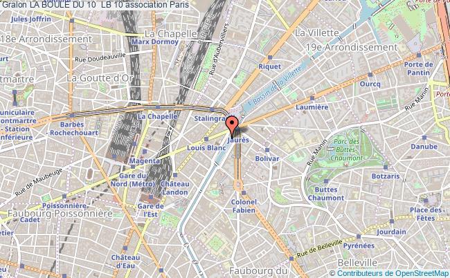plan association La Boule Du 10  Lb 10