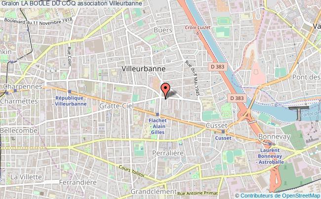 plan association La Boule Du Coq