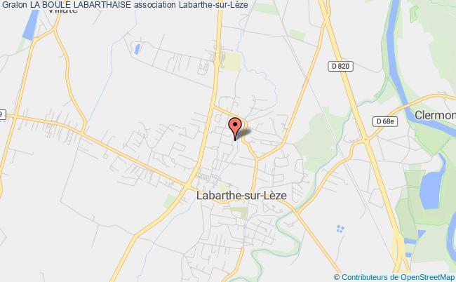 plan association La Boule Labarthaise