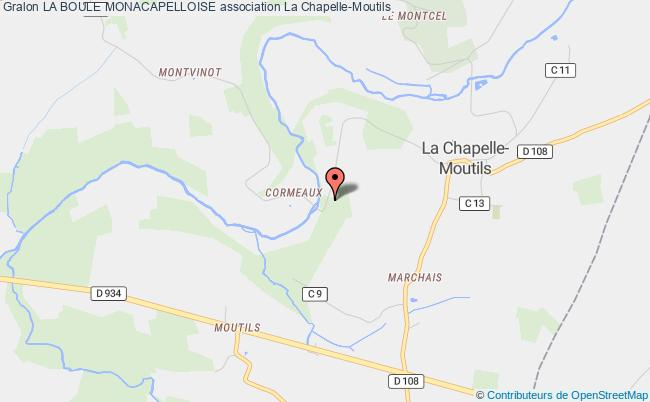 plan association La Boule Monacapelloise La    Chapelle-Moutils