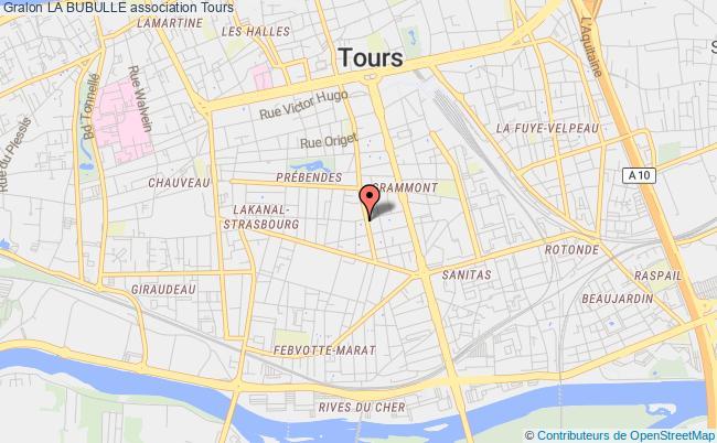 plan association La Bubulle Bordeaux