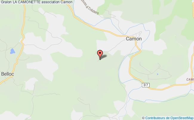 plan association La Camonette Camon
