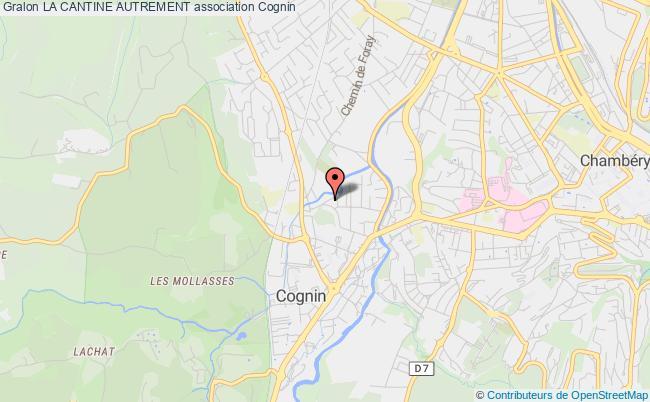 plan association La Cantine Autrement