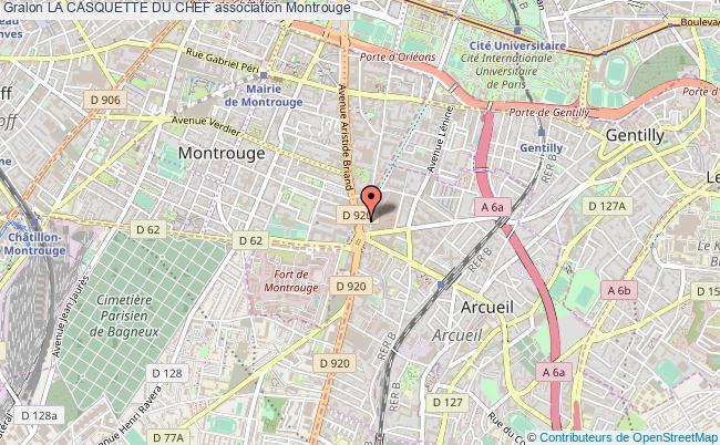 plan association La Casquette Du Chef Montrouge