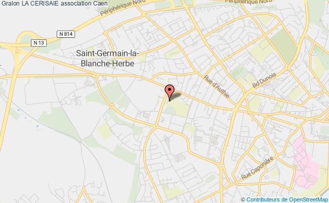 plan association La Cerisaie Caen