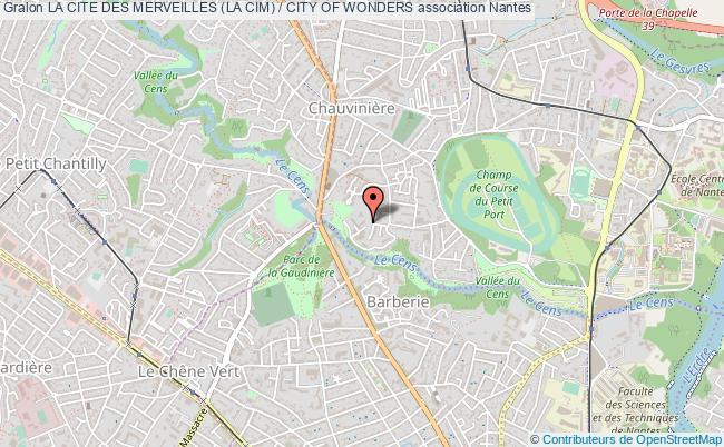 plan association La Cite Des Merveilles (la Cim) / City Of Wonders