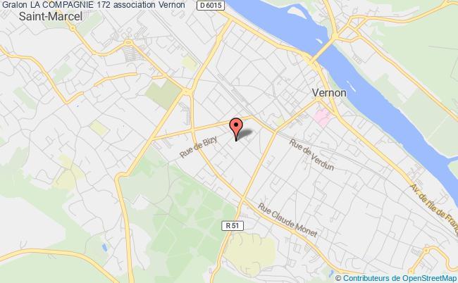 plan association La Compagnie 172 Vernon
