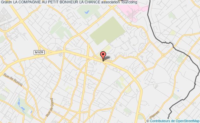 plan association La Compagnie Au Petit Bonheur La Chance