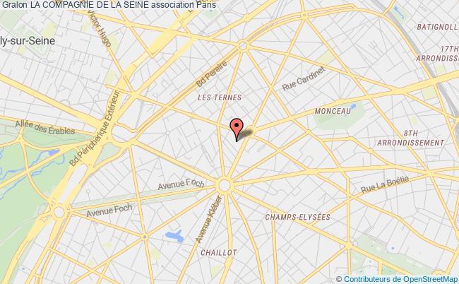 plan association La Compagnie De La Seine Montrouge