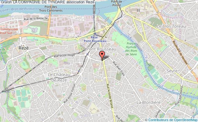 plan association La Compagnie De Tyndare