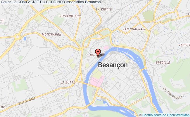 plan association La Compagnie Du Bondinho
