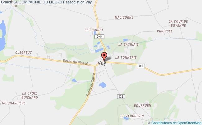 plan association La Compagnie Du Lieu-dit