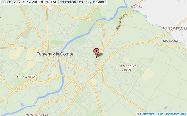 plan association La Compagnie Du Noyau Fontenay-le-Comte