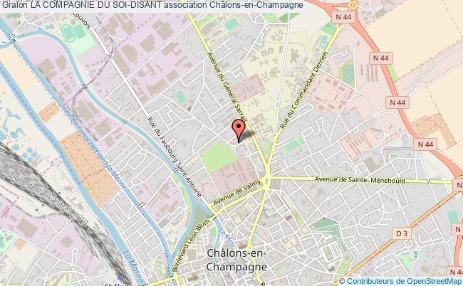 plan association La Compagnie Du Soi-disant