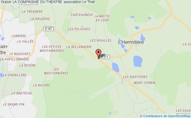 plan association La Compagnie Du Theatre