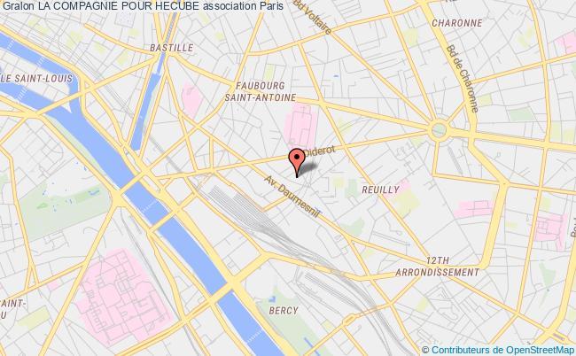 plan association La Compagnie Pour Hecube Paris