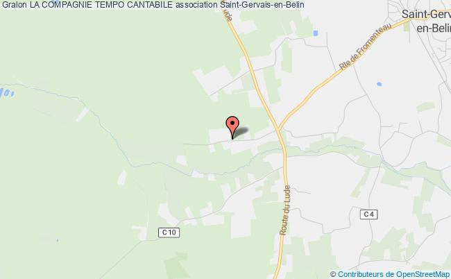 plan association La Compagnie Tempo Cantabile Paris