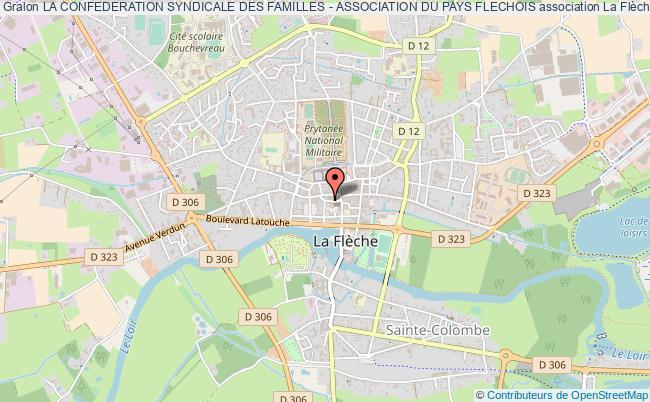 plan association La Confederation Syndicale Des Familles - Association Du Pays Flechois