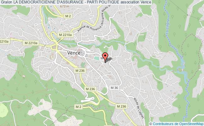 plan association La DÉmocraticienne D'assurance - Parti Politique