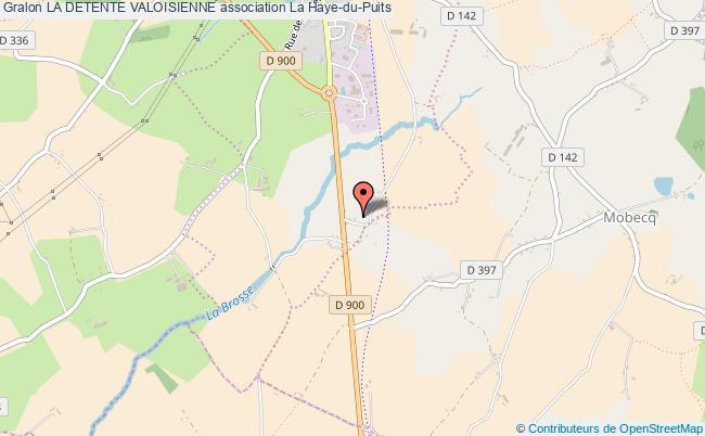 plan association La Detente Valoisienne Saint-Symphorien-le-Valois