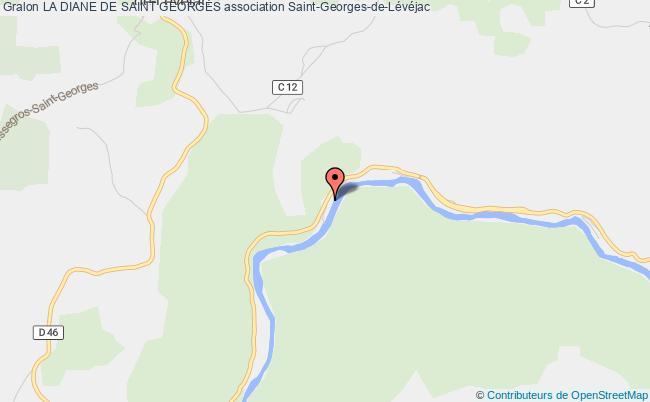 plan association La Diane De Saint Georges