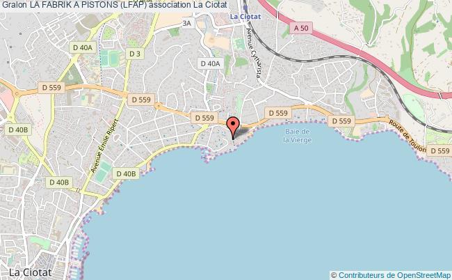 plan association La Fabrik A Pistons (lfap)