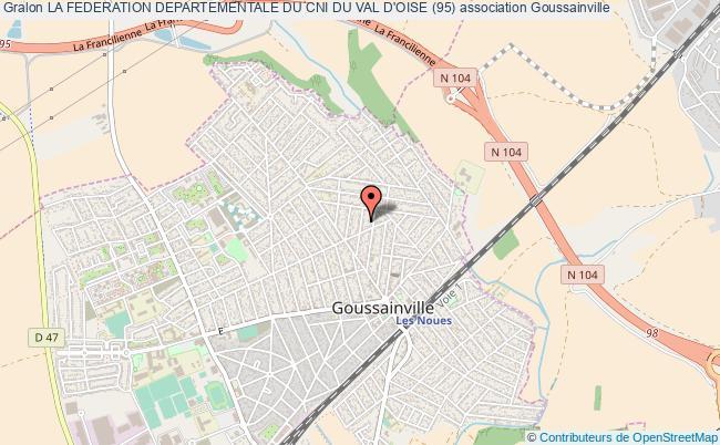 plan association La Federation Departementale Du Cni Du Val D'oise (95) Goussainville