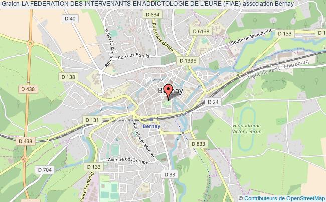 plan association La Federation Des Intervenants En Addictologie De L'eure (fiae)