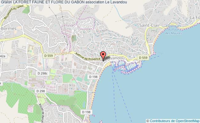 plan association La Foret Faune Et Flore Du Gabon Le Lavandou