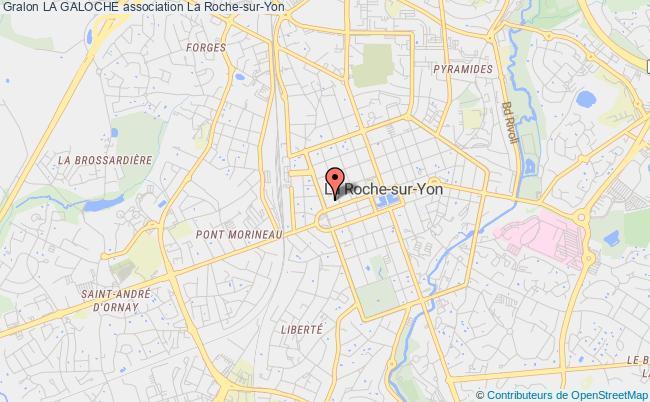 plan association La Galoche La    Roche-sur-Yon