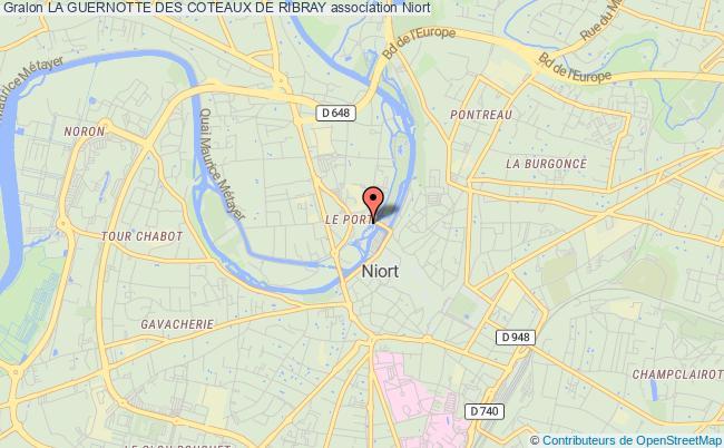 plan association La Guernotte Des Coteaux De Ribray