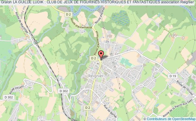 plan association La Guilde Ludik : Club De Jeux De Figurines Historiques Et Fantastiques