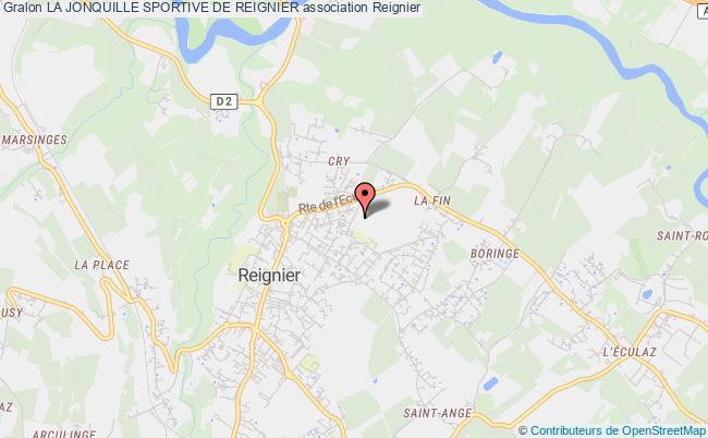 plan association La Jonquille Sportive De Reignier