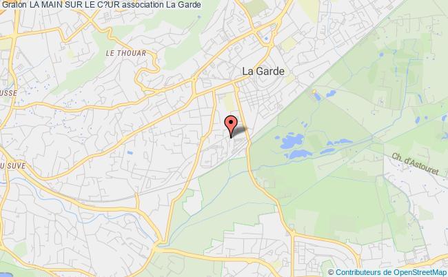 plan association La Main Sur Le C?ur