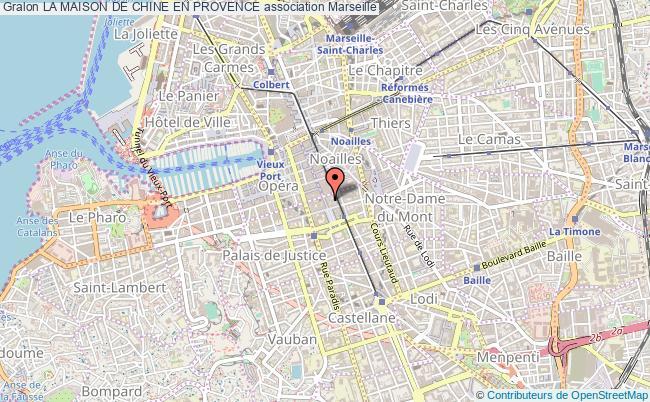 plan association La Maison De Chine En Provence