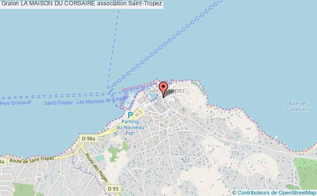 plan association La Maison Du Corsaire