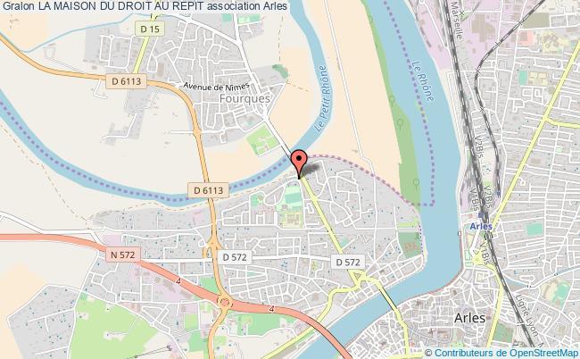 plan association La Maison Du Droit Au Repit Arles