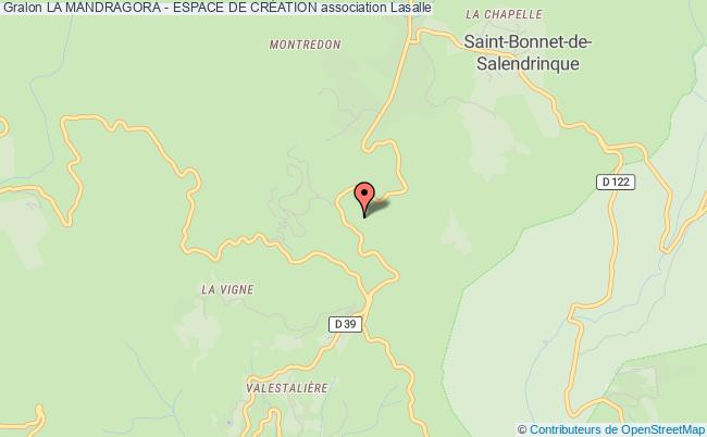 plan association La Mandragora - Espace De CrÉation