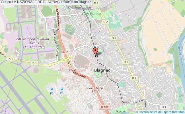 plan association La Nazionale De Blagnac