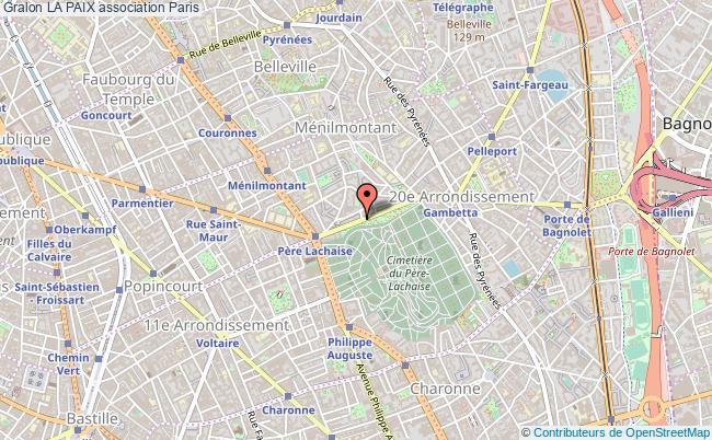 plan association La Paix