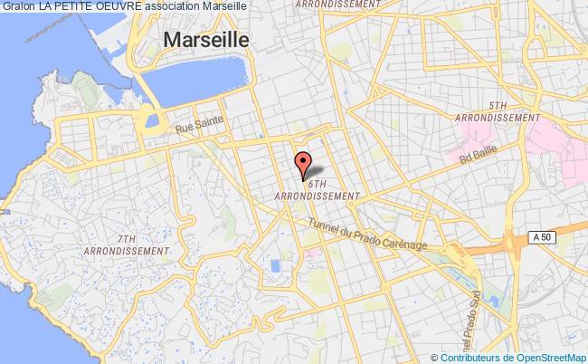 plan association La Petite Oeuvre Marseille