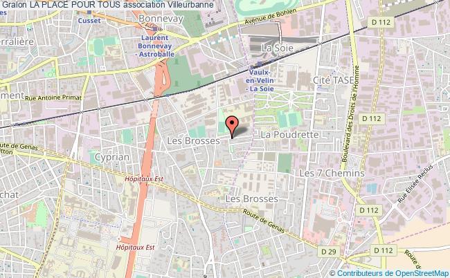 plan association La Place Pour Tous