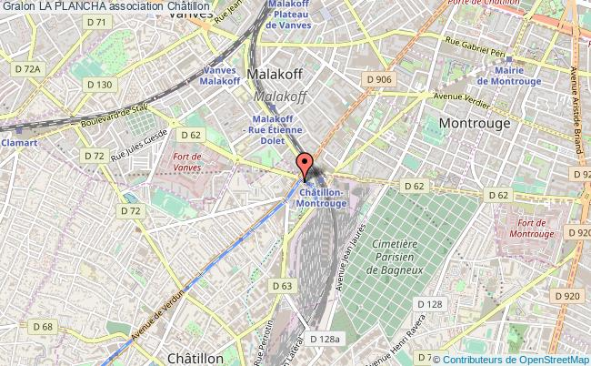 plan association La Plancha Châtillon