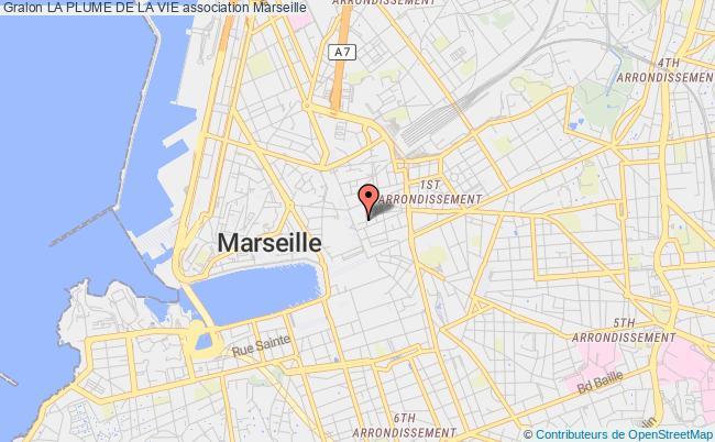 plan association La Plume De La Vie Marseille