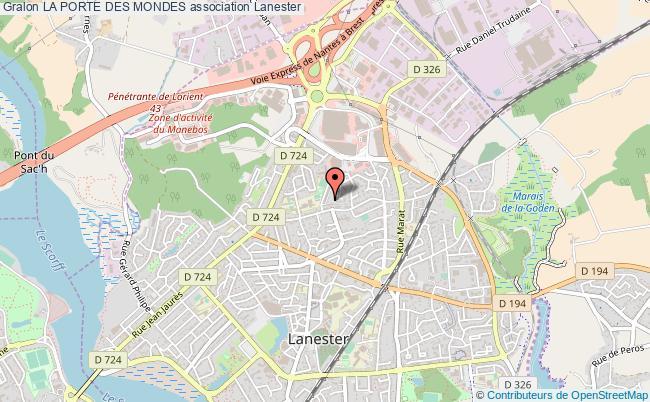 plan association La Porte Des Mondes
